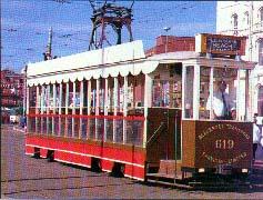 Blackpool Heritage Tram